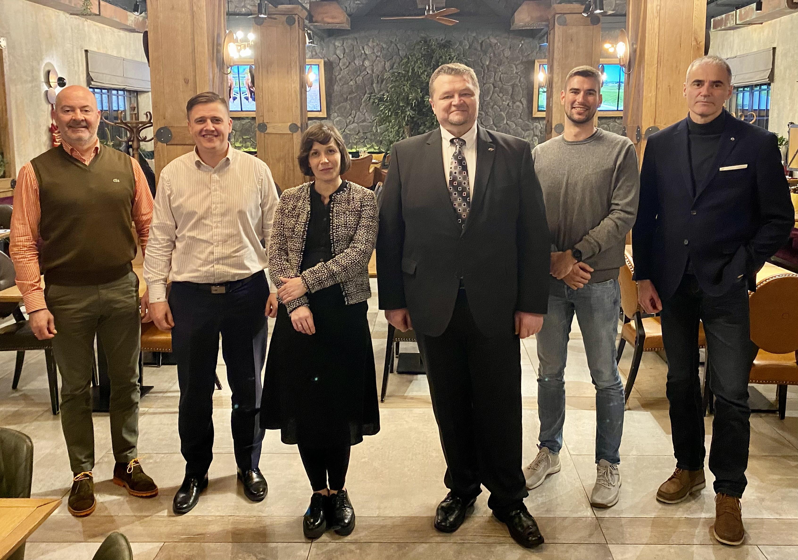 Serbia alumni club Masa Zekic Igor Kordik