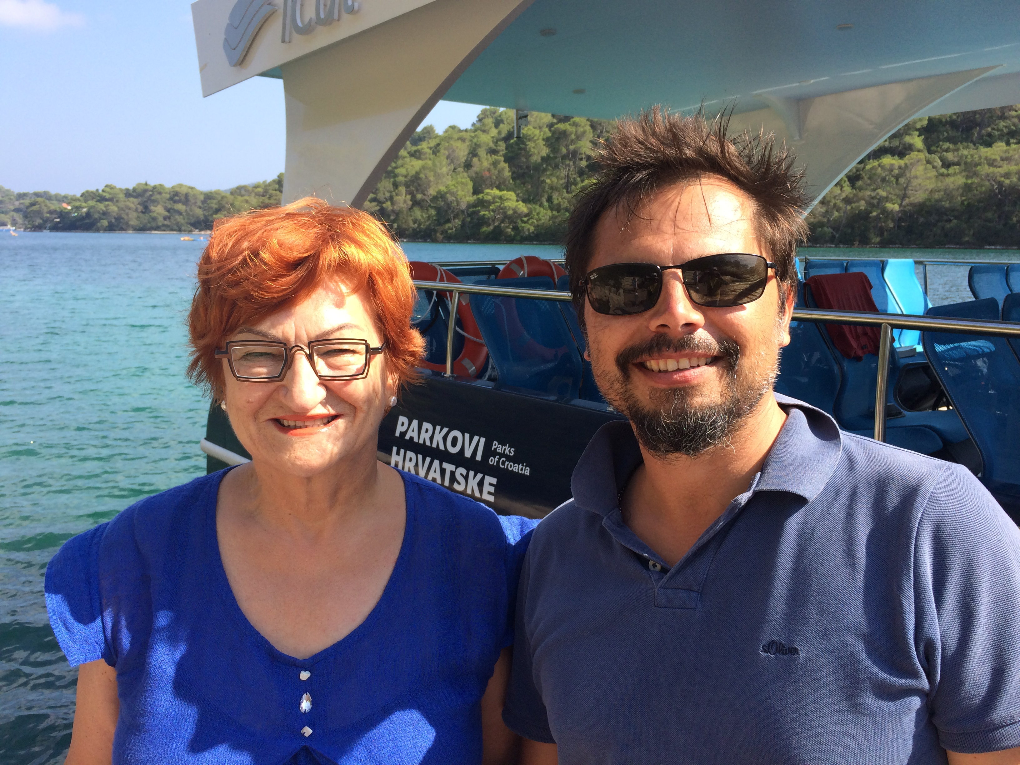 Danica and Uroda at Mljet